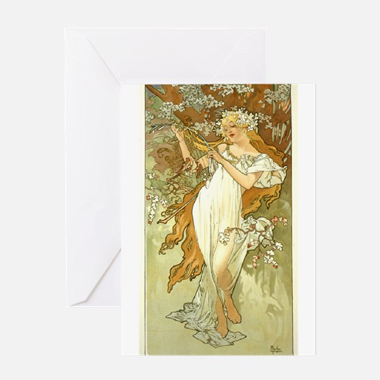Printemps (Spring) Greeting Card