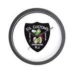 Customs NJ Specops Wall Clock