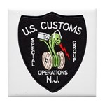 Customs NJ Specops Tile Coaster