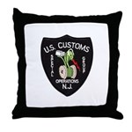 Customs NJ Specops Throw Pillow