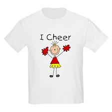 Stick Figure I Cheer T-Shirt