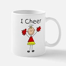 Stick Figure I Cheer Mug