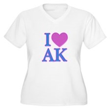 I Love AK T-Shirt