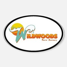 Wilwood NJ Oval Decal