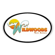 Wilwood NJ Oval Sticker (10 pk)