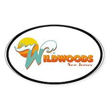 Wilwood NJ Oval Sticker (10 pk)