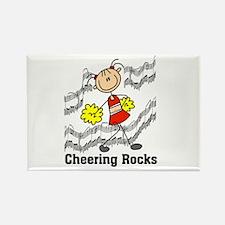 Cheering Rocks Rectangle Magnet