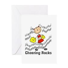 Cheering Rocks Greeting Card