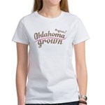 Organic! Oklahoma Grown! Women's T-Shirt