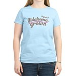 Organic! Oklahoma Grown! Women's Light T-Shirt