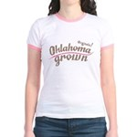 Organic! Oklahoma Grown! Jr. Ringer T-Shirt