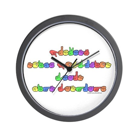 Prevent Noise Pollution Wall Clock