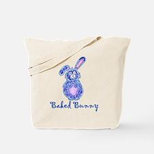 Baked Bunny design Tote Bag