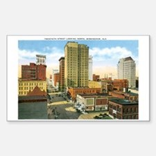 Birmingham Alabama Rectangle Decal