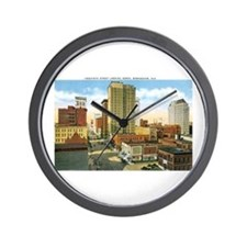 Birmingham Alabama Wall Clock