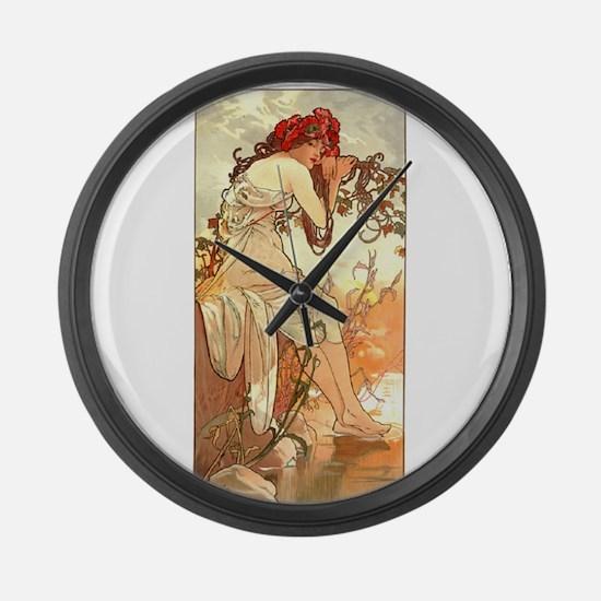 Ete (Summer) Large Wall Clock