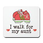 Breast Cancer Walk Aunt Mousepad