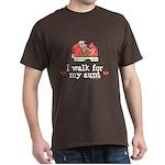 Breast Cancer Walk Aunt Dark T-Shirt