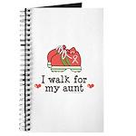 Breast Cancer Walk Aunt Journal