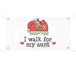 Breast Cancer Walk Aunt Banner