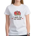 Breast Cancer Walk Aunt Women's T-Shirt