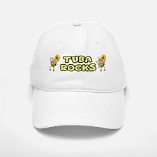Tuba Rocks Baseball Baseball Cap