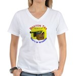 Wyoming Women's V-Neck T-Shirt