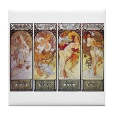 Les Saisons (The Seasons) Tile Coaster