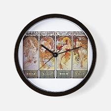 Les Saisons (The Seasons) Wall Clock