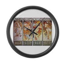 Les Saisons (The Seasons) Large Wall Clock