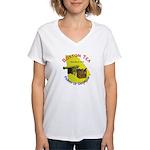 Georgia on my mind Women's V-Neck T-Shirt