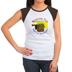 Oklahoma is OK Women's Cap Sleeve T-Shirt