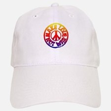 Make Love Not War Baseball Baseball Cap