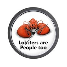 Lobsters are People too Wall Clock