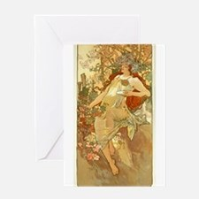 Automne (Fall) Greeting Card