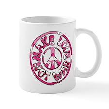Make Love Not War Mug
