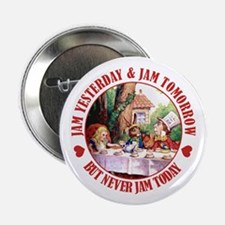 """THE MAD HATTER'S RULES 2.25"""" Button"""