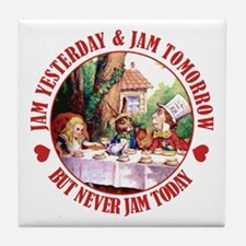 THE MAD HATTER'S RULES Tile Coaster