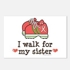 Breast Cancer Walk Sister Postcards (Package of 8)