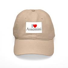 """""""I Love (Heart) Assemini"""" Baseball Cap"""