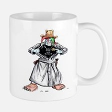 Bad Jester Cop Artwork on Mug