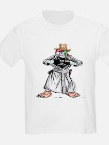 Bad Jester Cop Artwork on T-Shirt