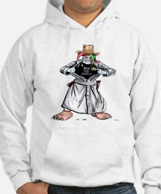 Bad Jester Cop Artwork on Hoodie