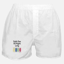 Safe Sex All Night Long Boxer Shorts