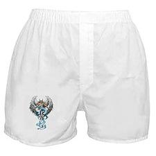 Religious angel artwork on Boxer Shorts