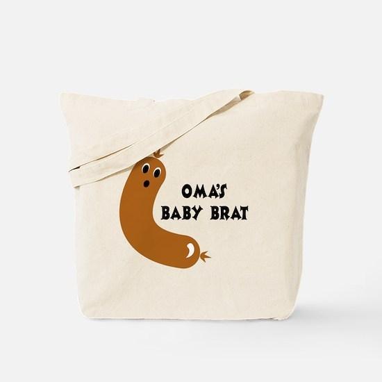 Oma's Baby Brat Tote Bag