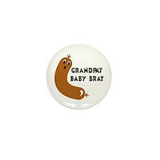 Grandpa's Baby Brat Mini Button (10 pack)