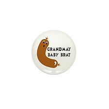 Grandma's Baby Brat Mini Button (10 pack)