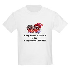 A day without illegals is lik T-Shirt