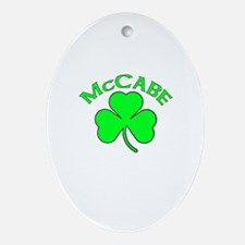 McCabe Oval Ornament